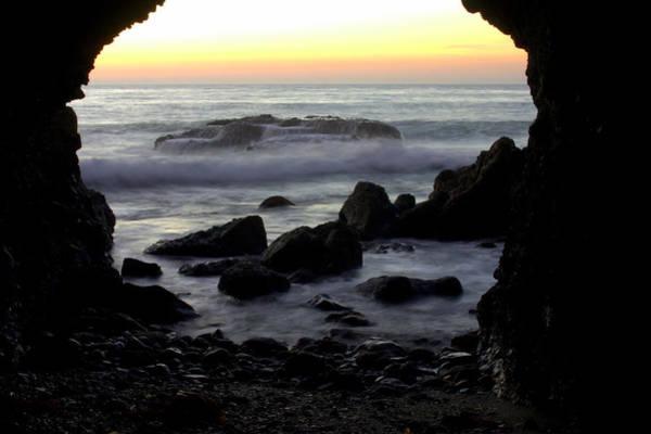 Photograph - Sunset Cave by Brad Scott