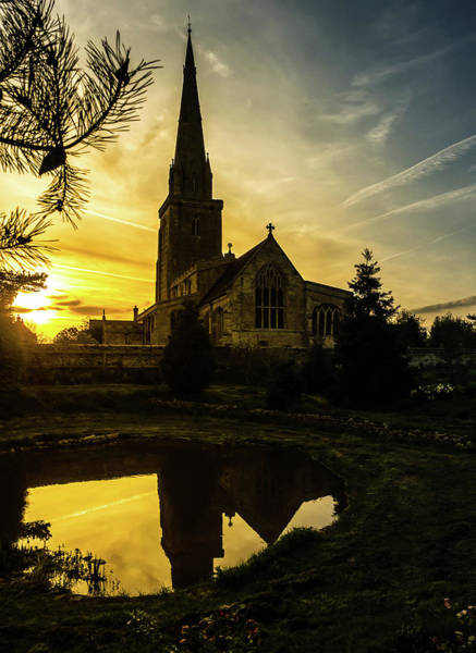 Photograph - Sunset Church by Nick Bywater