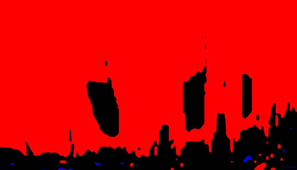 Aupre.com Arthouse Wall Art - Painting - Sunset City by The Hari Rama