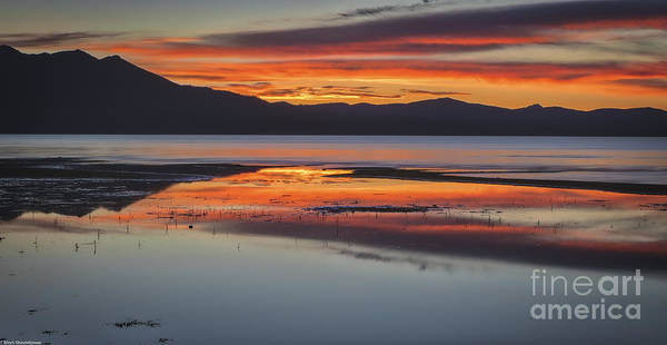 South Lake Tahoe Photograph - Sunset Colors by Mitch Shindelbower