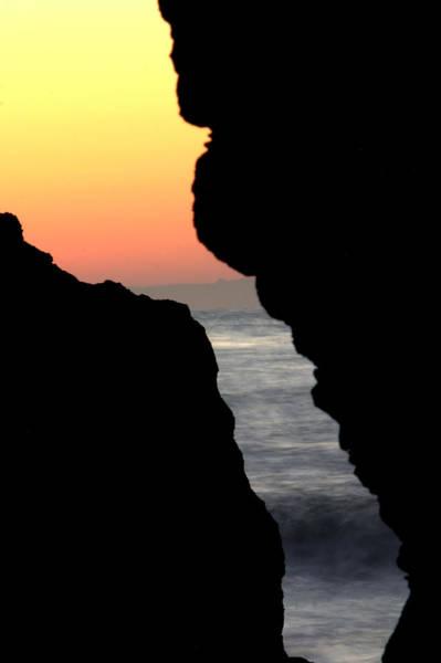 Photograph - Sunset Crack by Brad Scott