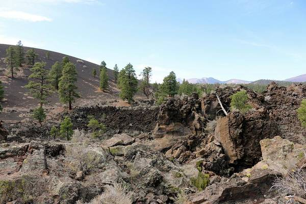 Photograph - Sunset Crater Volcano National Monument by Christy Pooschke