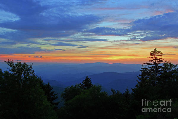 Photograph - Sunset Crop On Waterrock Knob by Jennifer Robin