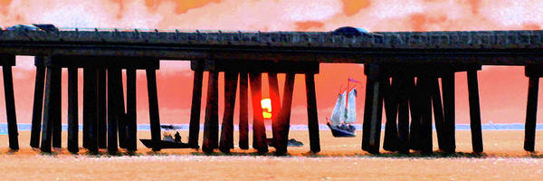 Digital Art - Sunset Cruise In Smug Stick by James Granberry