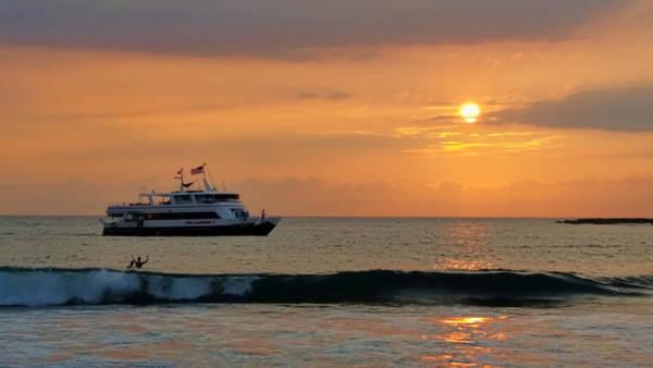 Photograph - Sunset Cruise by Pamela Walton