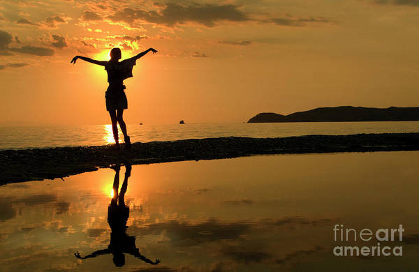 Photograph - Sunset Dance by Daliana Pacuraru