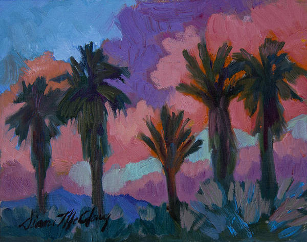 Wall Art - Painting - Sunset by Diane McClary