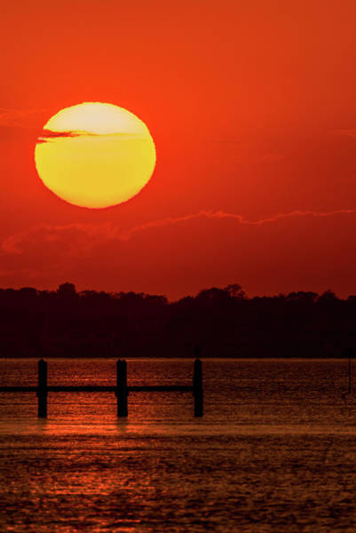 Photograph - Sunset Dock Lavallette Nj by Terry DeLuco