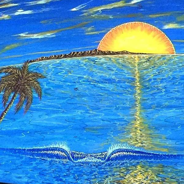 Painting - Sunset Dream by Paul Carter
