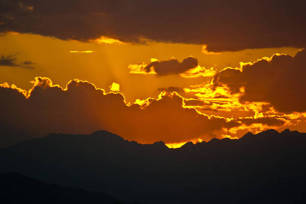 Photograph - Sunset Fire by Colleen Coccia