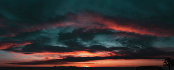 Wall Art - Photograph - Sunset Fire by Lonnie Christopher