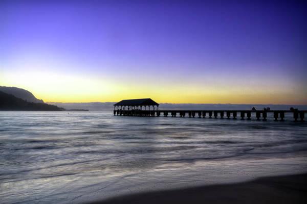 Photograph - Sunset Fisherman by Brad Granger