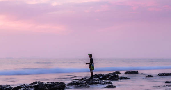Wall Art - Photograph - Sunset Fishing In Lanta by Georgia Fowler