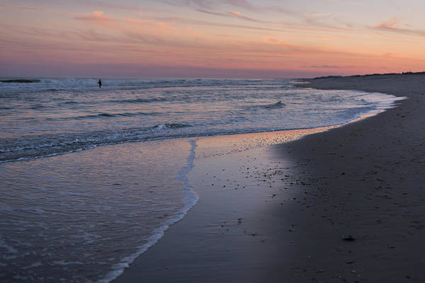 Photograph - Sunset Fishing Seaside Park Nj by Terry DeLuco