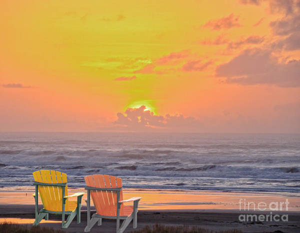 Wall Art - Photograph - Sunset For 2 by Beverly Guilliams