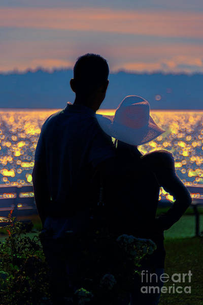 Wall Art - Photograph - Sunset For Two by Viktor Birkus