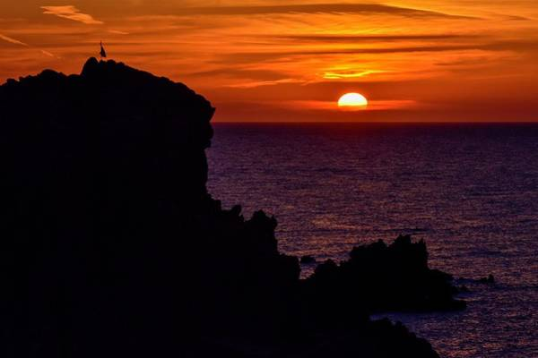 Photograph - Sunset From Costa Paradiso by Geoff Smith