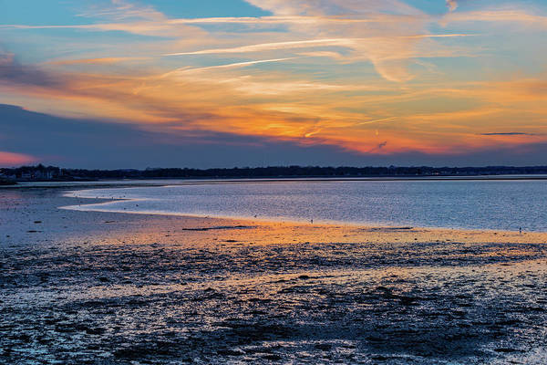 Photograph - Sunset From Houghs Neck In Quincy Massachusetts by Brian MacLean