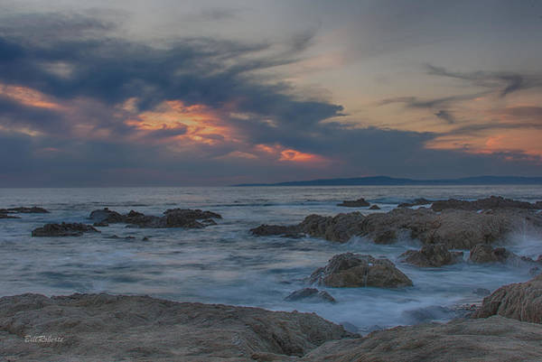 Wall Art - Photograph - Sunset From Pacific Grove by Bill Roberts
