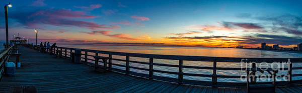 Photograph - Sunset From The Pier by David Smith