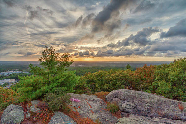 Photograph - Sunset From The Skyline Trail by Brian MacLean