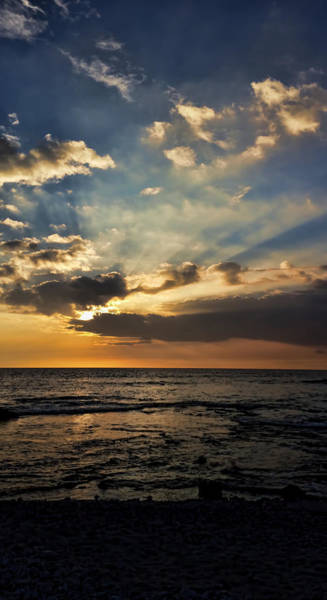 Photograph - Sunset From Waikoloa by Pamela Walton
