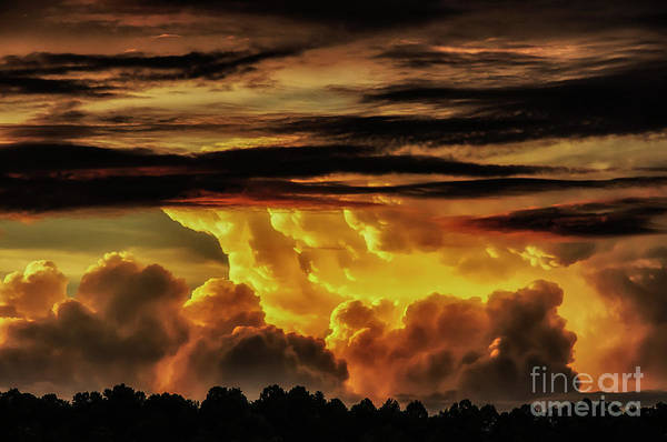 Photograph - Sunset Glory by Thomas R Fletcher