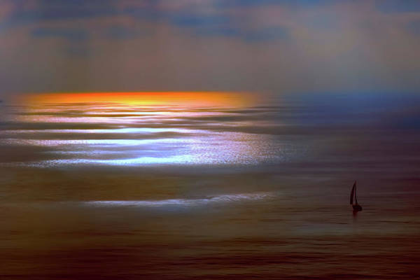 Photograph - Sunset Glow by OLena Art Brand