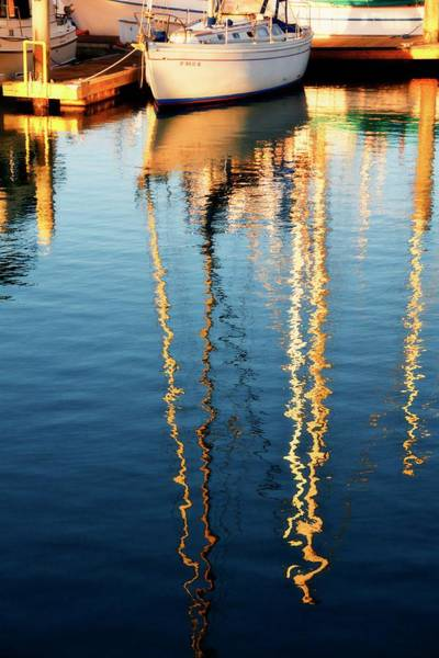 Photograph - Sunset Glow, Ventura Harbor Sailboat by Flying Z Photography by Zayne Diamond