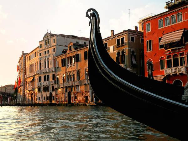 Photograph - Sunset Gondola Ride by Micki Findlay