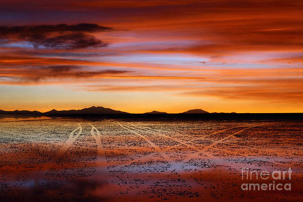 Photograph - Sunset Highways 2 by James Brunker