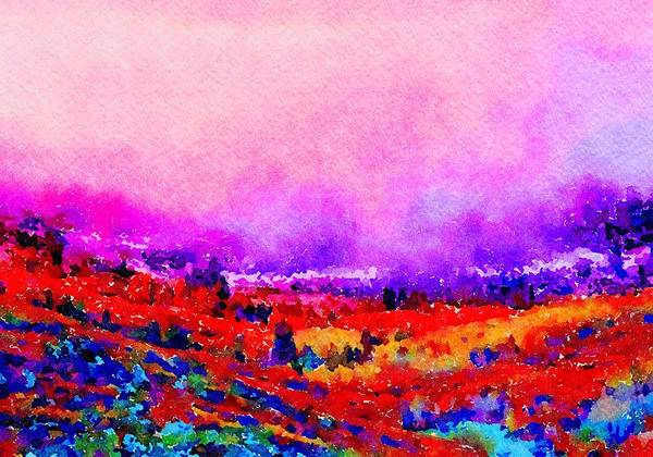 Painting - Sunset Hills by Angela Treat Lyon