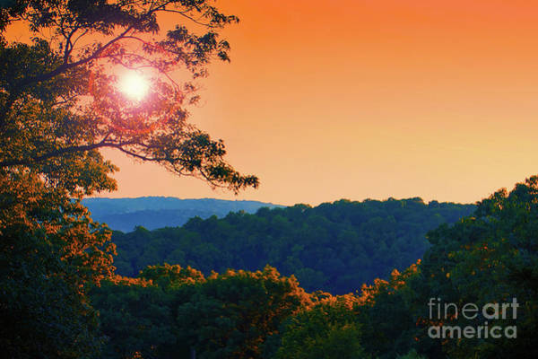 Roxbury Photograph - Sunset Hills by Mark Miller