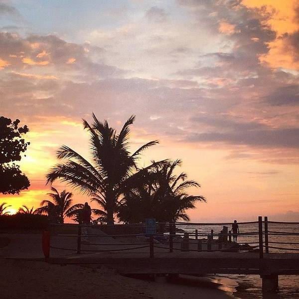 Jamaica Photograph - Sunset #holidayinresortjamaica #jamaica by Tammy Wetzel
