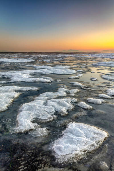 Photograph - Sunset Ice by Pierre Leclerc Photography