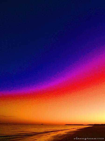 Digital Art - Sunset In A Can by Vincent Green