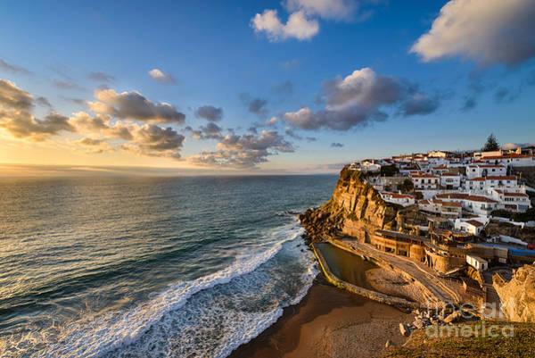 Azenhas Photograph - Sunset In Azenhas Do Mar by Michael Abid