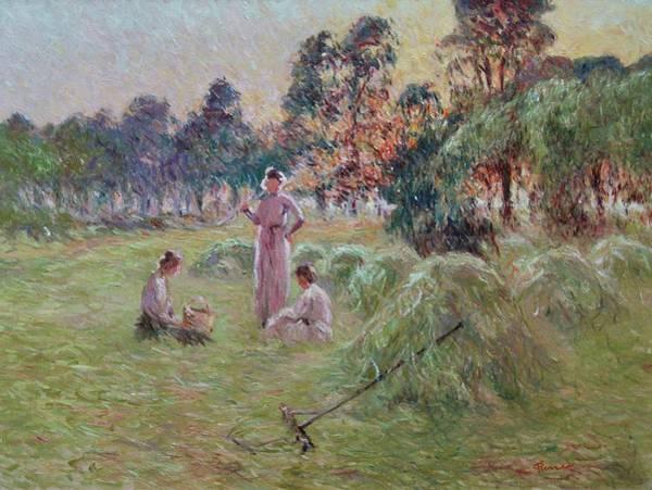 Sunset In Beynac-et-cazenac Art Print