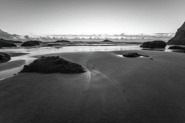 Photograph - Sunset In Black And White by Jedediah Hohf