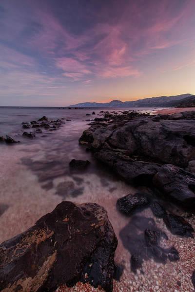 Photograph - Sunset In Cala Gonone by Daniele Fanni