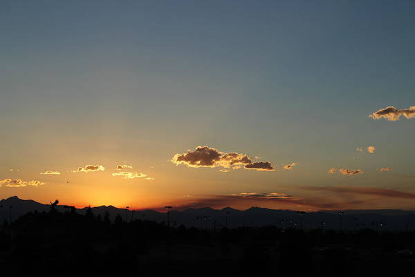 Photograph - Sunset In Colorado by Colleen Cornelius