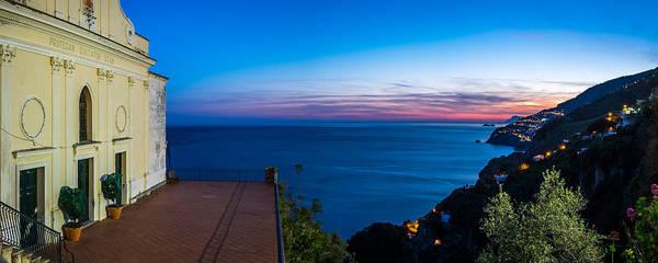 Tramonto Photograph - Sunset In Conca Dei Marini - Amalfi, Italy - Landscape Photography by Giuseppe Milo