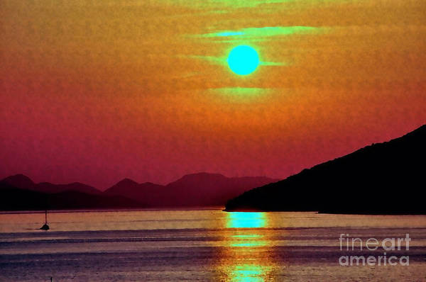 Photograph - Sunset In Croatia by Doc Braham