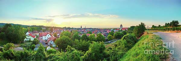 Photograph - sunset in Endingen,  German by Ariadna De Raadt