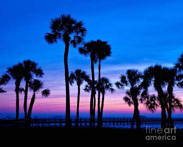 Wall Art - Photograph - Sunset In Florida by Stephen Whalen