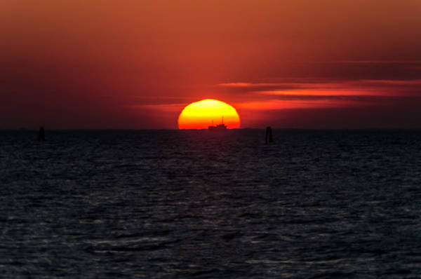 Photograph - Sunset In Grado by Wolfgang Stocker