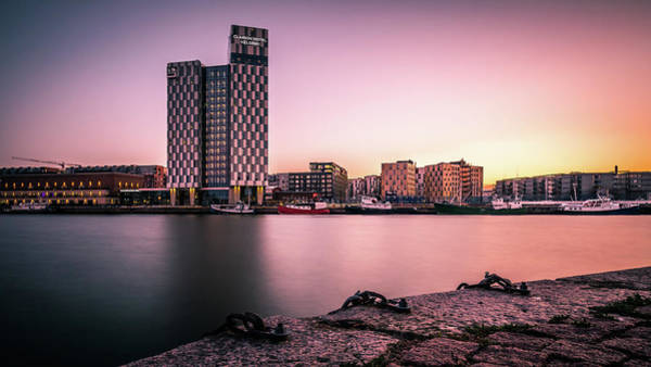 Clarion Photograph - Sunset In Helsinki - Finland - Cityscape Photography by Giuseppe Milo