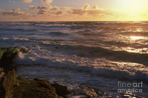 Wall Art - Photograph - Sunset In Lajolla by Sandra Bronstein