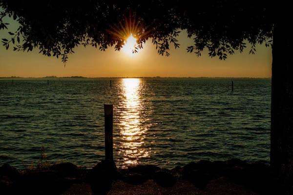 Photograph - Sunset In Lignano Rivera by Wolfgang Stocker