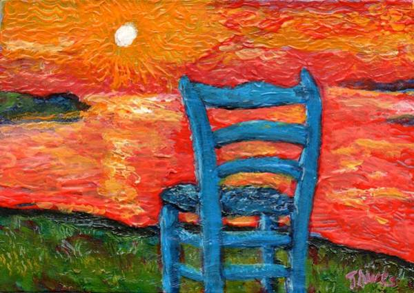Painting - Sunset In My Mind  by Dennis Tawes
